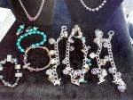 new semi-precious stone bracelets